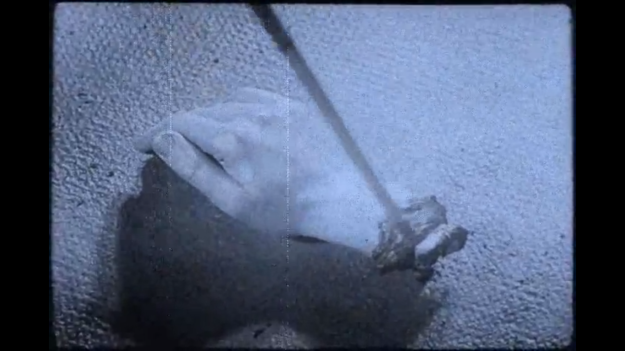 Figure 10. Still from Luis Buñuel and Salvador Dali's short film Un Chien Andalou (1929).