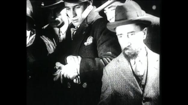 Figure 11. Still from Luis Buñuel and Salvador Dali's short film Un Chien Andalou (1929).