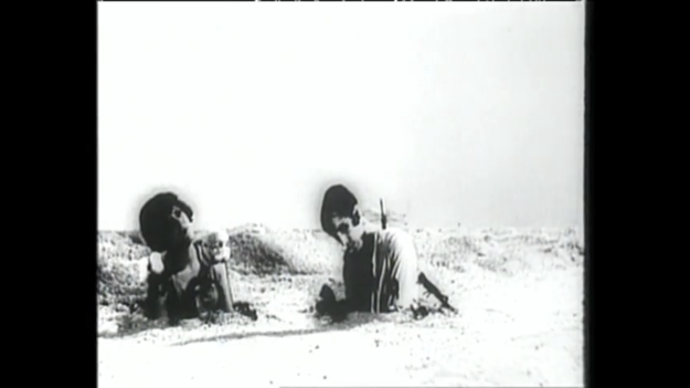 Figure 12. Still from Luis Buñuel and Salvador Dali's short film Un Chien Andalou (1929).
